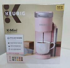 PINK Keurig K-Mini Single Serve K Cup Coffee Maker PINK DUSTY ROSE ~Limited Edit