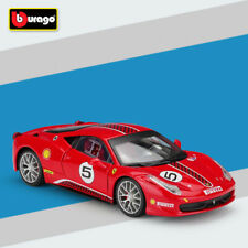 Bburago 1:24 Scale Ferrari 458 Challenge Diecast Model (Red) Car Toy With Case