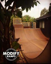 Modify Ramps - Custom Built Mini Ramp // Half Pipe - Skateboard Scooter BMX