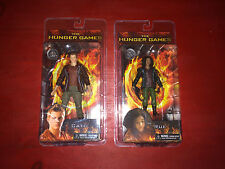 NECA The Hunger Games Catching Fire Rue & Cato Action Figures NIP!!