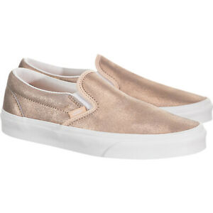 VANS Adult Unisex Classic Slip-On Canvas Shoes Rose Gold VN0A4BV3T61