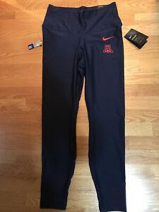 NWT Nike Arizona Wildcats Blue Tights Yoga Pants (Women's Large)