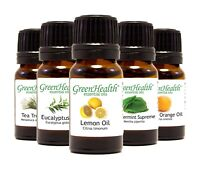 Essential Oils 10 ml  -  Pure & Natural - Popular Choices - GreenHealth