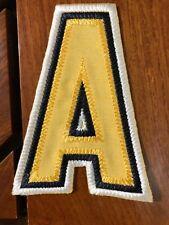 "BOSTON BRUINS ASSISTANT PATCH IRON ON 2 7/8"" X 4 1/8"""