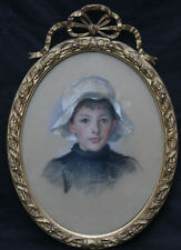 GWENNY GRIFFITHS 1867-1954 BRITISH WELSH ART PORTRAIT PAINTING EDWARDIAN BOY