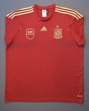 Spain Jersey Campeones 2010 Original XL Shirt Mens Red Camiseta Adidasa ig93