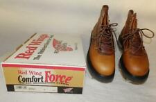 """$229.99 Men'S G-Force Red Wing 6"""" Leather Hunting Work Boots #961 Usa New In Box"""