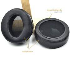 105mm Angle Genuine Leather Ear Pads Cushion Replacement for brand headphones
