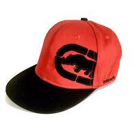 Rare Ecko Unltd Unlimited Ball Cap Hat SnapBack Red