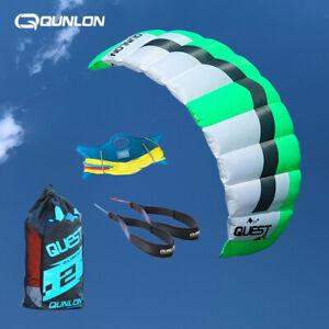 Q4 4m² Dual Line Kite for Outdoor Kitesurfing Kiteboarding Sport With Flying Set