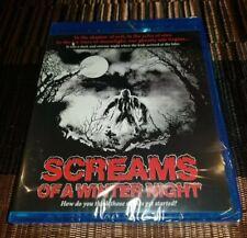 SCREAMS OF A WINTER NIGHT Blu-Ray RARE 1979 UNCUT Horror CODE RED NEW