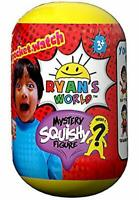 Ryan's World Pocket Watch Mystery Squishy Figure 1 set Colors May Vary