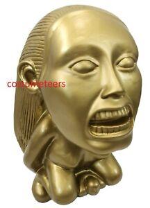 INDIANA JONES FERTILITY IDOL Golden Raiders of Lost Ark Replica Resin Coin Bank
