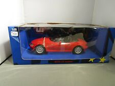 UT MODELS 1/18 RED BMW Z3 ROADSTER USED IN BOX *READ* VERY NICE