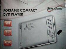New listing SuperSonic Portable Compact Dvd Player