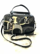 COACH Leather Inlaid Convertible Satchel (70th Anniversary Edition)