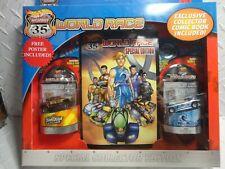 Hot Wheels Highway 35 World Race (2) Pack w/Mega Duty & Deora II w/Comic Book