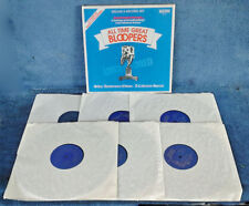 KERMIT SCHAFER PRESENTS - ALL TIME GREAT BLOOPERS - (6) LP BOX SET