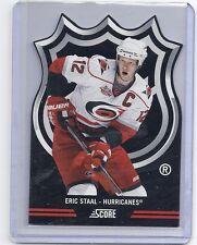 11-12 2011-12 SCORE ERIC STAAL NHL DIE-CUTS 10 CAROLINA HURRICANES