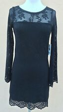 Denim & Supply by Ralph Lauren Evening Cocktail Mini Dress Black S NWT
