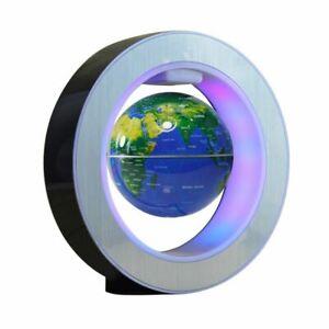 Magic Round Floating Globe World Map Magnetic Levitation LED Light Anti Gravity