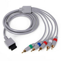 1.8m Nintendo Wii U/ Wii Component-AV High resolution graphic HDTV Cable New Hot
