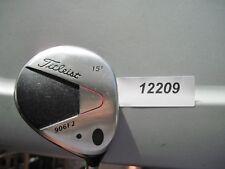 Titleist  906F2 ( 15* ) Fairway Wood Pro Force Stiff Flex Graphite USED # 12209