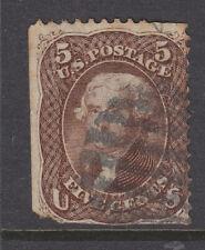 USA 1861 Sg 72 good used missing corners