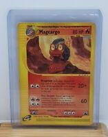 Magcargo Non Holo Rare E Series Pokemon TCG Card Skyridge 17/144 Moderate Play