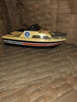 VINTAGE TOY PLASTIC BOAT SHIP SEA PATROL 1978 TOMMY 5 INCHES NO MOTOR