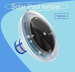 New Solar Pool Ionizer with ONE Copper-Silver Anode Bar