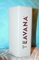 Teavana Grey Gray Octagon Shaped 8oz Collector TIN ONLY S12