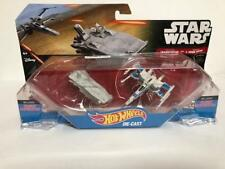 NEW w/defects Hot Wheels Star Wars First Order Transporter vs X-Wing Fighter
