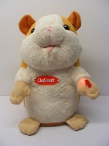 CHATIMALS 7in. lemming mouse hamster Talking plush 2012