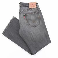 Vintage LEVI'S 559 Black Denim Relaxed Straight Jeans Mens W32 L30
