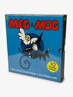 Meg and Mog Collection 10 Children Pictures Books Set inc Meg on the Moon