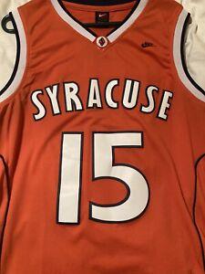 Vintage Carmelo Anthony Syracuse Basketball Jersey Adult Medium STITCHED NIKE