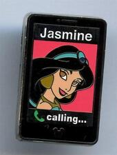 "Jasmine Princess Mobile Phone Cell 2014 ""B"" Hidden Mickey Disney Pin AUTHENT WDW"