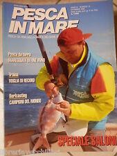 Lotto 12 numeri annata completa rivista PESCA IN MARE RIVA BARCA BIG GAME 1993