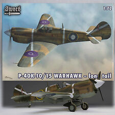 SWORD 1/72 P-40K-10/15 WARHAWK LONG TAIL SW72065