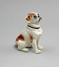 Figura de porcelana Perro pequeño Bulldog caoba Ens 10x5x11,5cm 9941588