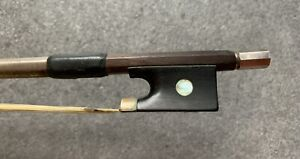 Old Antique Violin viola cello bow for repair or restoration. French, German?