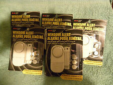 Lot of 5 Window Alert Alarm-Doors, Cabinet, Drawers-Be alerted of Intruders-EB30
