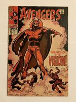 The Avengers #57 (Oct 1968, Marvel) - 1st Apppearance Of Vision, MCU/Disney+