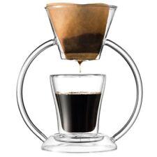 Leonardo Kaffeebereiter mit Becher Duo (2-teilig)