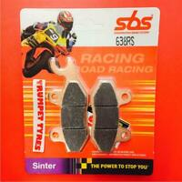 Aeon 125 Overland 02 > ON SBS Rear Race Sinter Brake Pads OE QUALITY 638RS