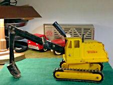 tonka backhoe shovel digger excavator original condition