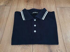Men's Dolce & Gabbana Basic Short Sleeve Polo Shirt Navy Size - Large