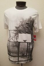 NIKE AIR FORCE 1 PLAYGROUND LEGEND SHIRT WHITE MENS SZ Large