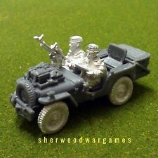 1/48 British Para Jeep with Basket & Single Vickers BNIB, WWII 28mm Bolt Action,